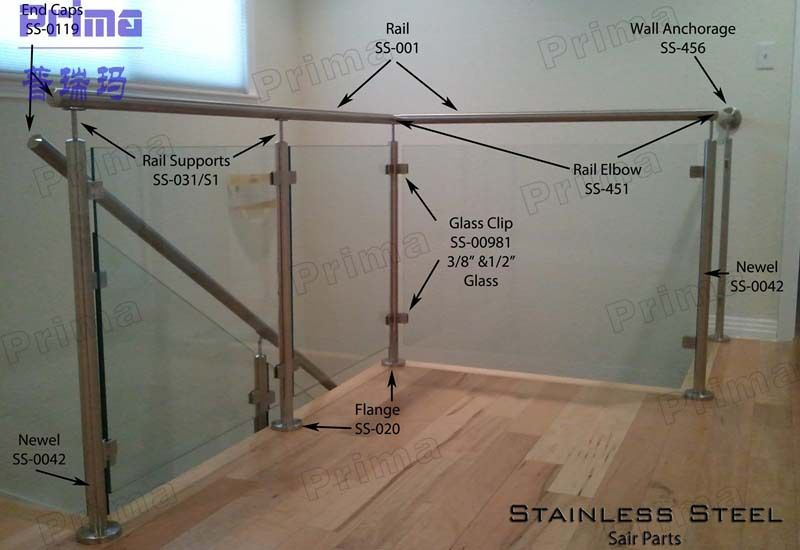 Best Exterior Stainless Steel Railing Handrail Balcony Steel 400 x 300