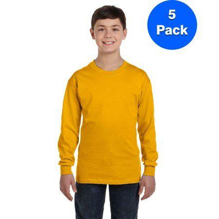 Kids Gildan Plain  Boys Girls Childrens School Sweatshirt Jumper Top Fleece