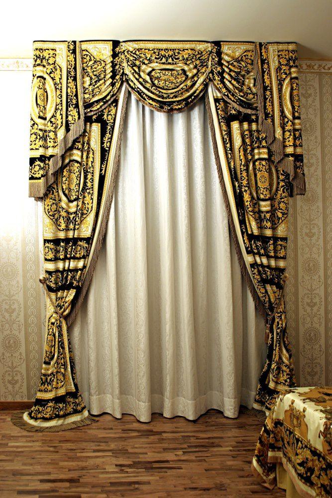 Tenda Versace showroom Pinterest Versace and Showroom - gardinen für küche