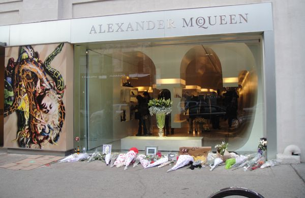 huge selection of 8a26d 5581b Alexander McQueen boutique in the Meatpacking District ...