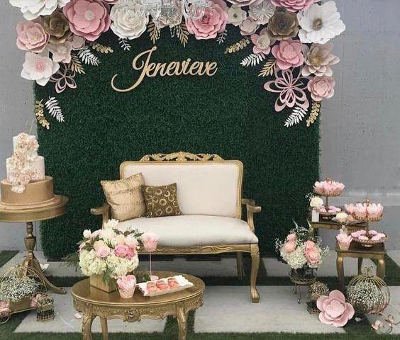 30 Unique And Breathtaking Wedding Backdrop Ideas: Photocall O Accesorios Para Eventos