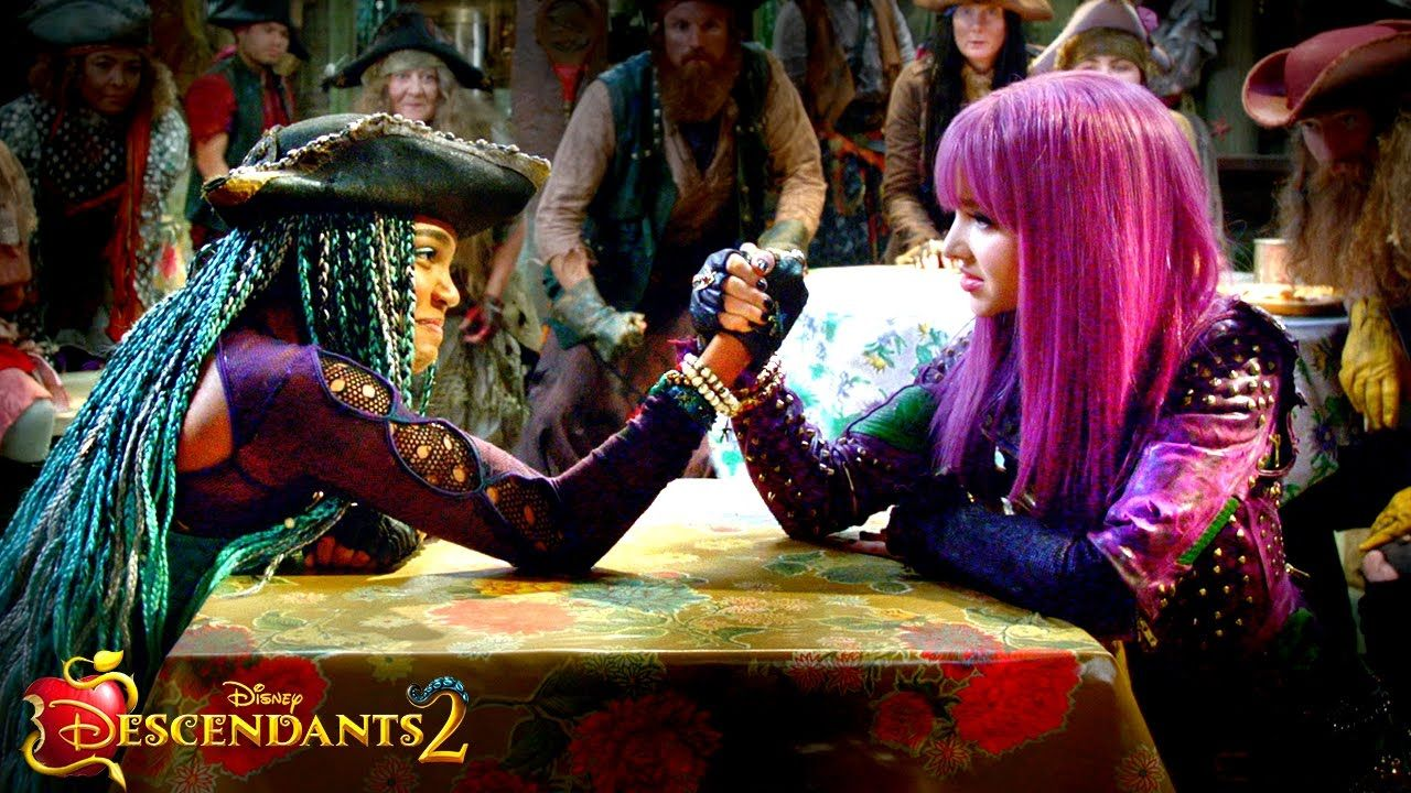 UMA vs. MAL: VK Drama Revealed!! | Descendants 2 | Descendants ...
