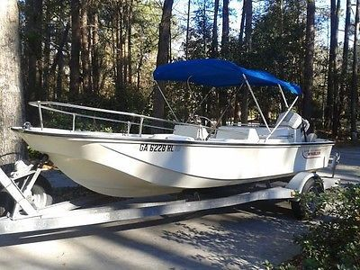 Boston Whaler Rare Model Super Sport Limited Evinrude 90 Hp Trailer Buy Now Only 7000 0 Bass Fishing Boats Freshwater Fishing Boston Whaler Boats