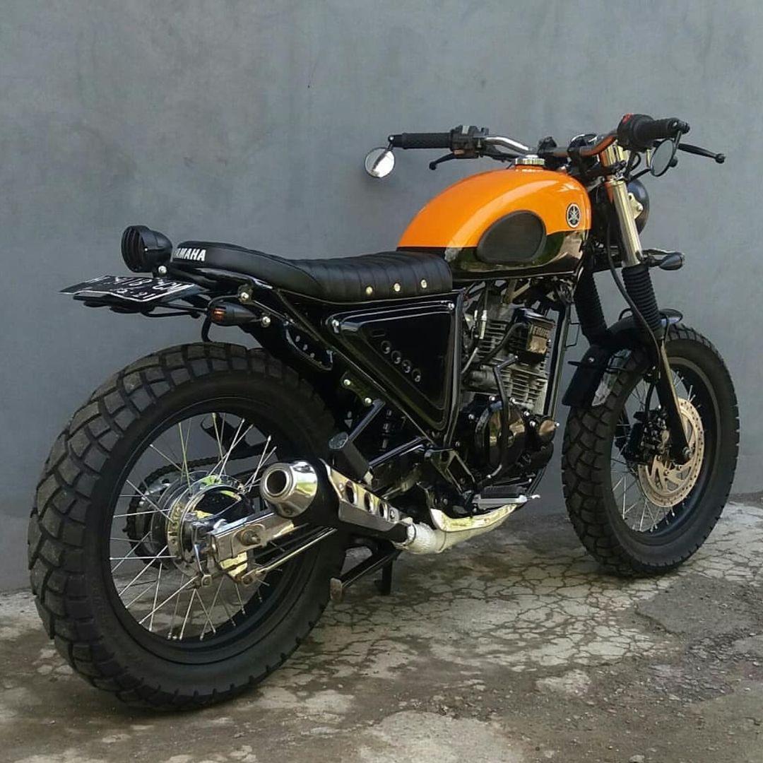 The Scrambler Yamaha Scorpio 2005 225cc custom by icus921 Rate 1 to