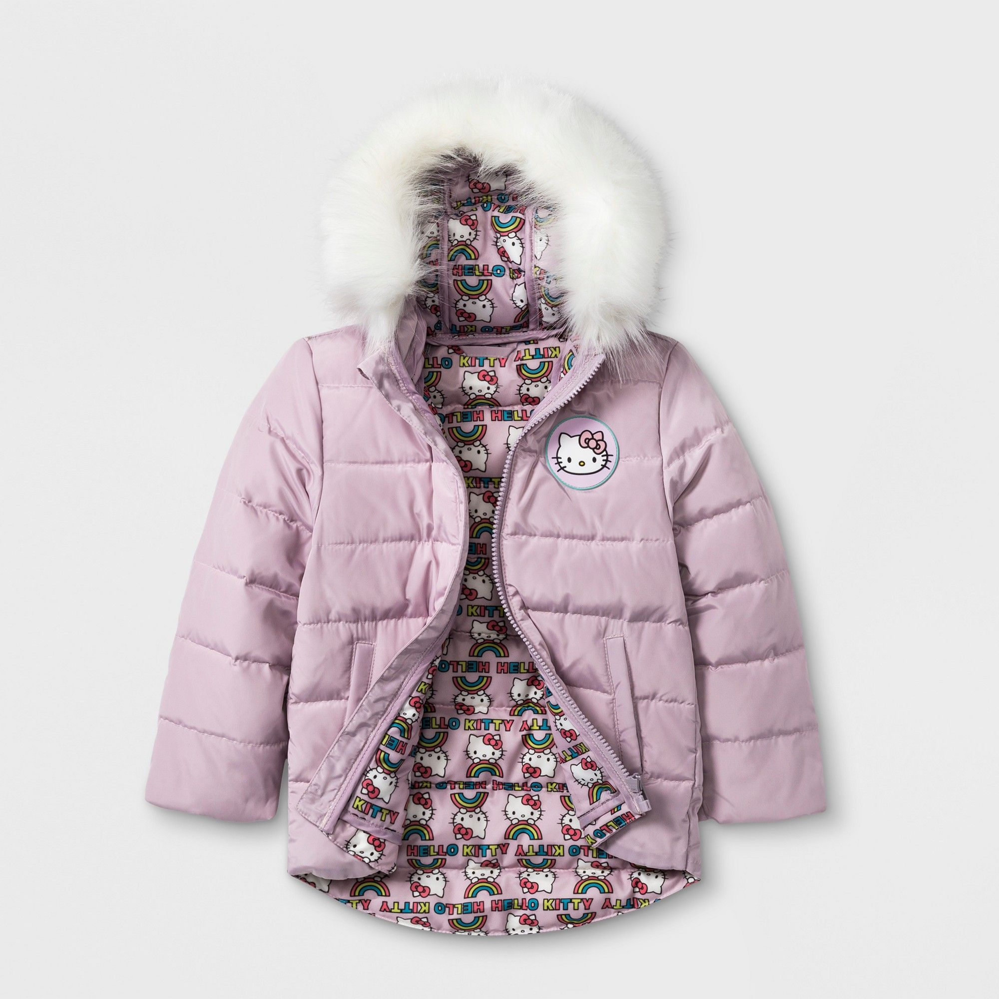 372431e08 Toddler Girls' Hello Kitty Down Parka - Pink 12M | Products | Down ...