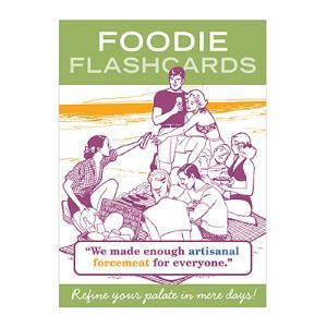 FOODIE FLASHCARDS   Board Game, Family Game, Chef, Cooks, Recipe, Fun   UncommonGoods