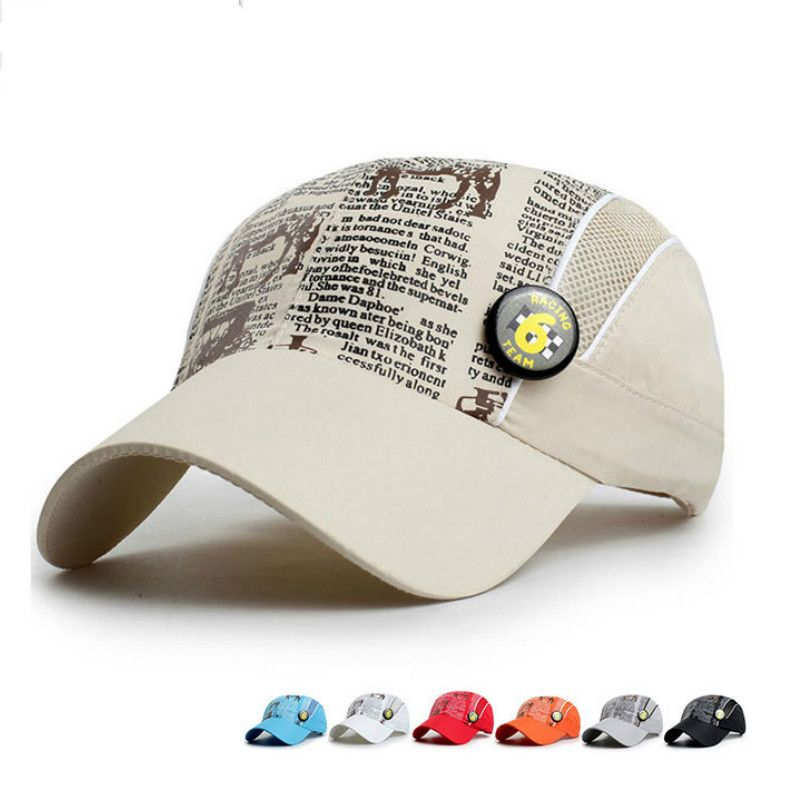BomHCS Children Waterproof Quick-drying Cap Sunshade Mesh Cap Sport  Baseball Hat  Affiliate b4c70d2c5a7