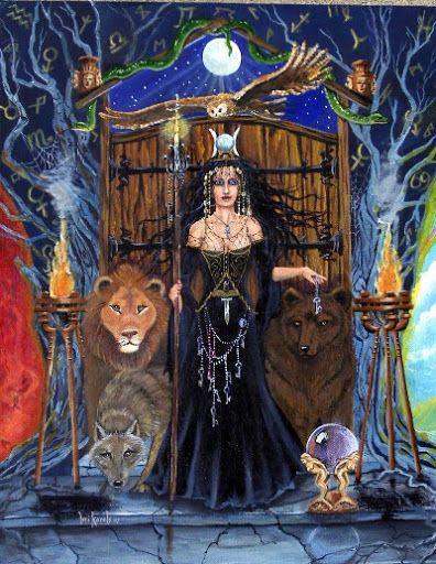 Greek Goddess Hecate - Goddesses and Gods