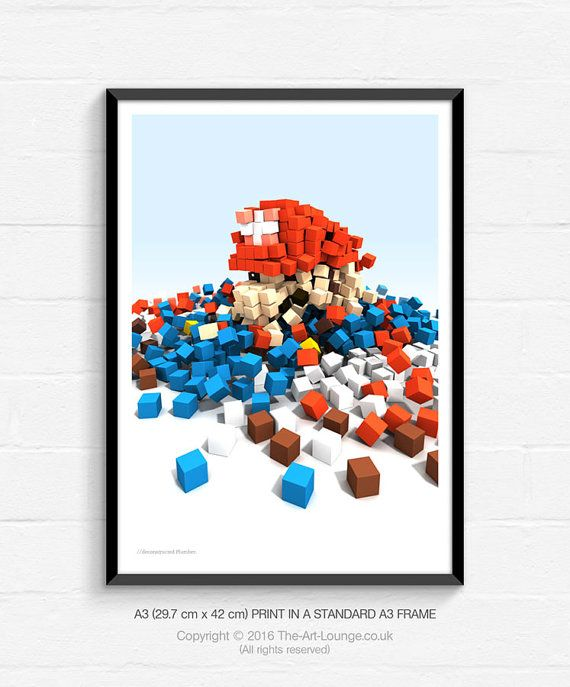 Video Game Art, Video Game Posters, Pop Art, Gaming Art