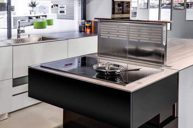 Alno new modern front in Caruba Kitchen cabinet line called - alno küchen fronten