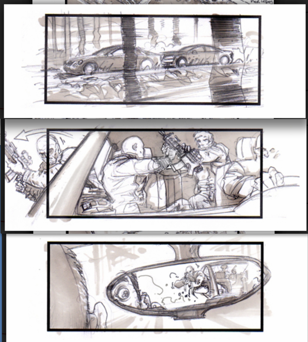 Jonathan Delerue   Transporter Cars Chase Sequence  Story