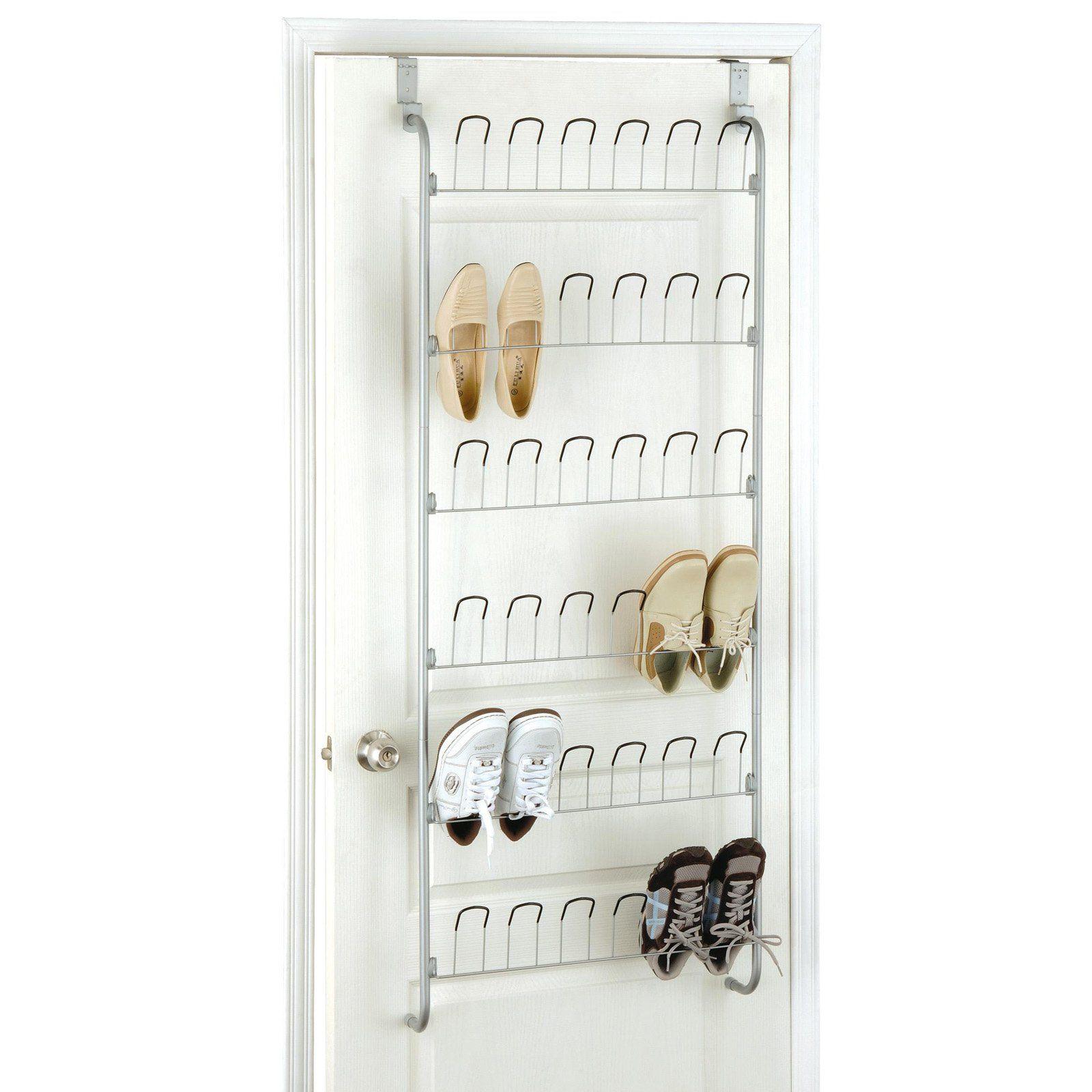 Organize It All Overdoor Wire Shoe Rack Shoe Rack Closet Shoe