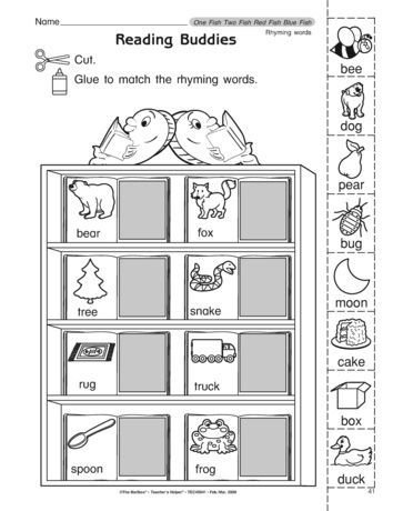 Add This Rhyming Words And Pictures Worksheet To Your Dr Seuss Activities Rhyming Worksheet Rhyming Words Rhyming Words Kindergarten Free rhyming worksheets for first grade