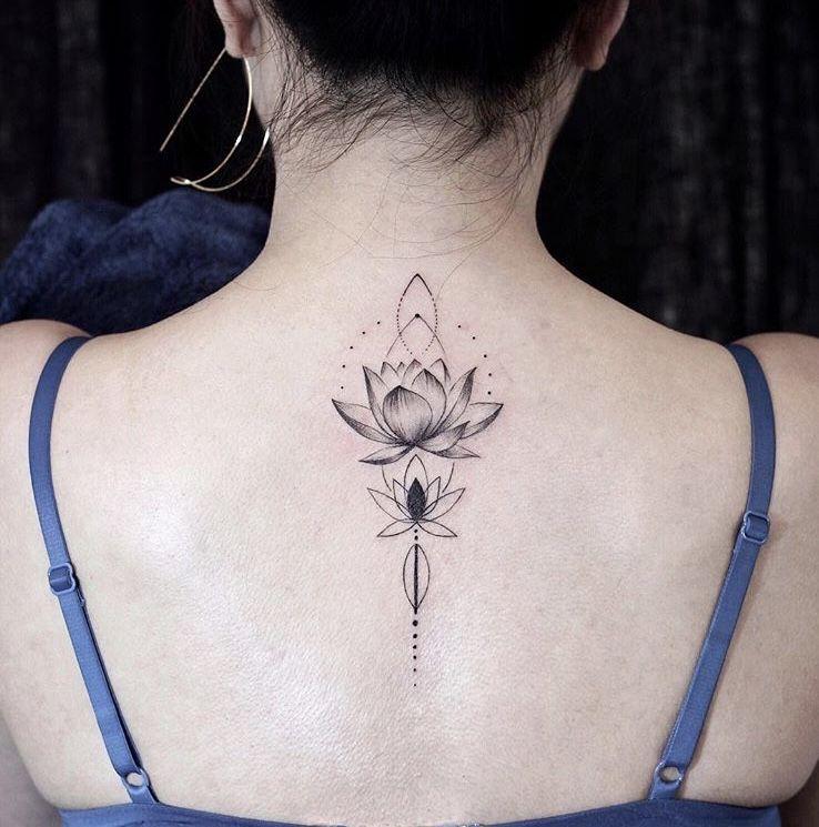 31+ Tatouage fleur de lotus nuque ideas in 2021