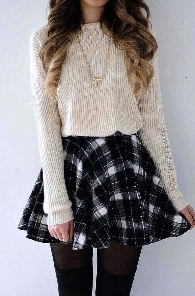 Vêtements dautomne pour les adolescentes