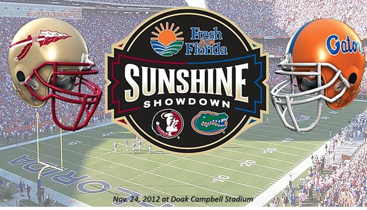 Sunshine Showdown FSU Seminoles vs Florida Gators on