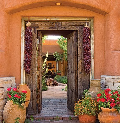 Adobe And Territorial Style On Pinterest Santa Fe Nm