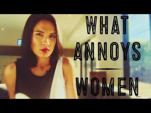 What annoys men when dating