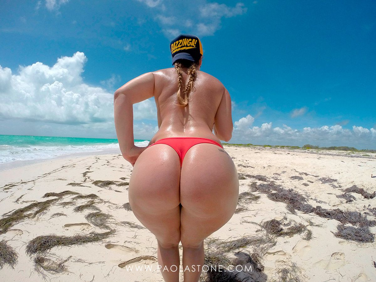 mexican booty queen in the beach! – paola stone – porno amateur hd