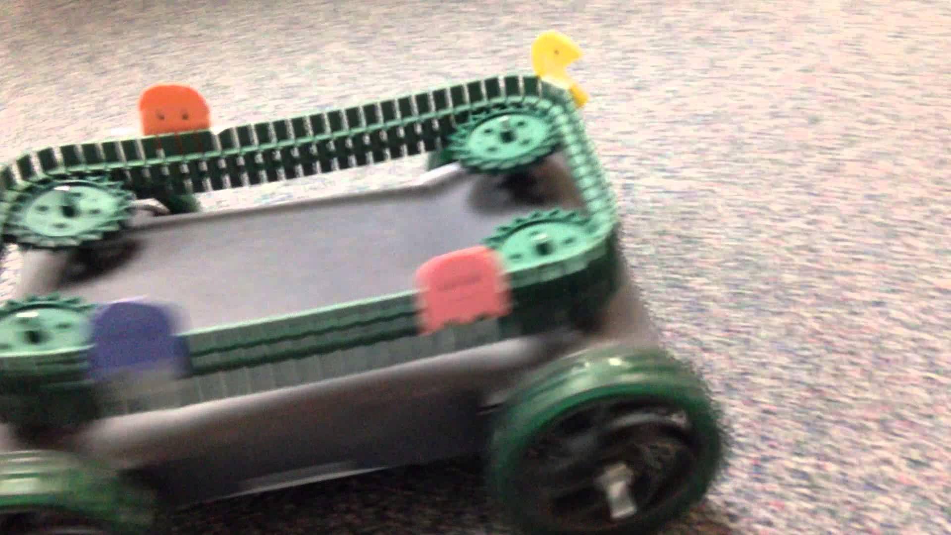 GTT VEX Pull Toy Pac Man And Ghosts YouTube School Robotics Classy Pac Man Recycling Bins And Re