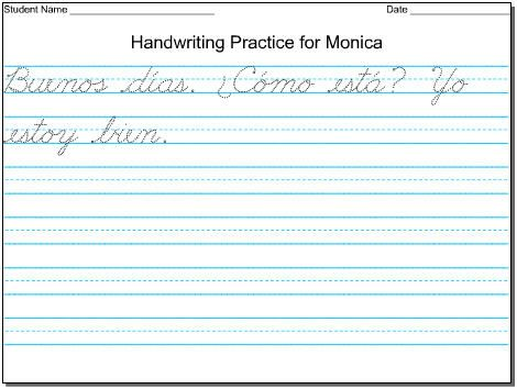 DIY Handwriting Practice Sheets | Handwriting worksheets for ...