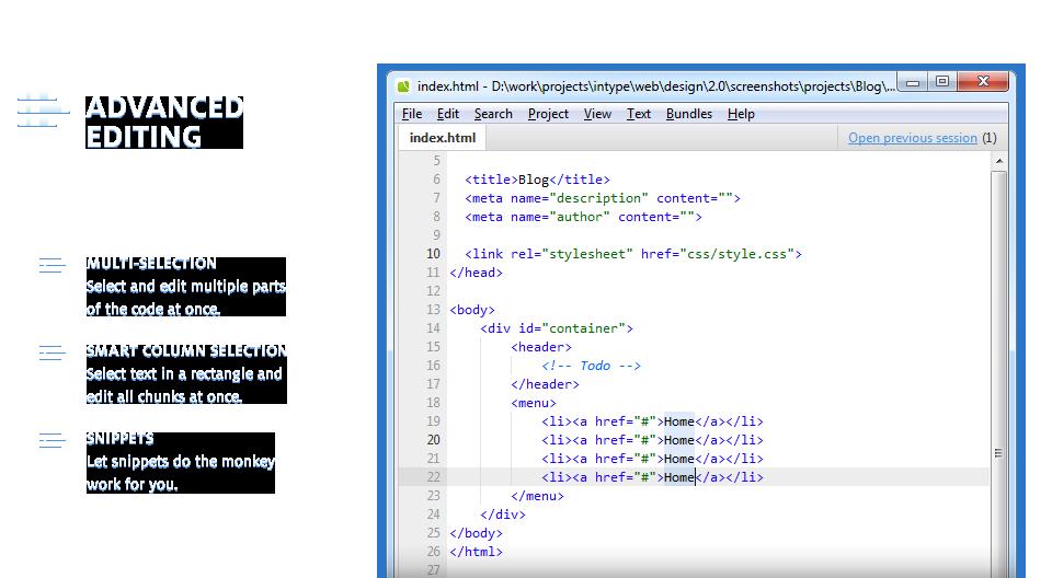Intype Html Text Editor Web Design Tools Web Design Resources Web Design