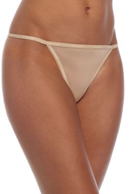 76ba3d03d0442f Calvin Klein Sheer Marquisette String Thong - QF1681 | Products ...