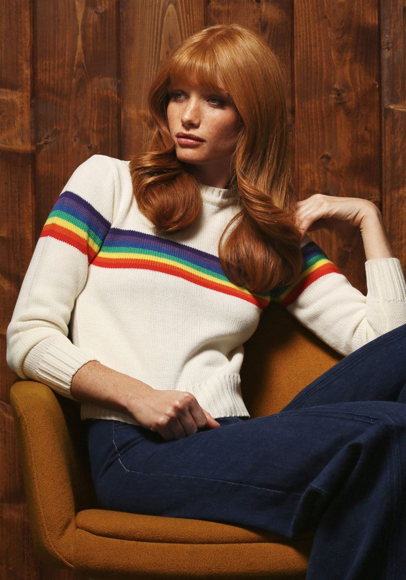 Vibrantly Retro Winterwear - The Stoned Immaculate Vintage Winter Collection is Sunny and Bright (GALLERY)