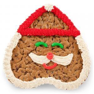 Mr Claus Cookie Cake