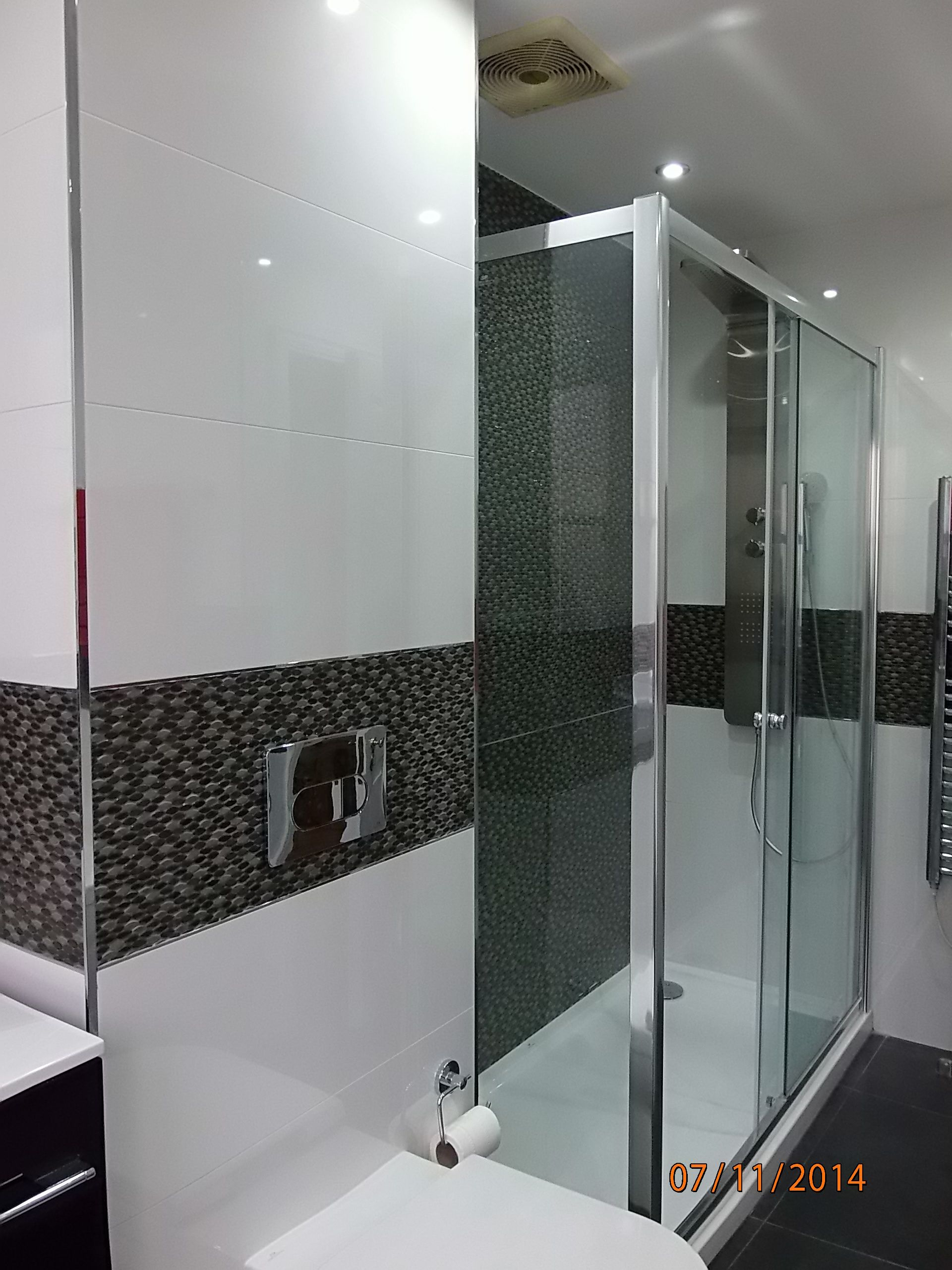 My Design Porcelanosa Glass Blanco And Madison Antracita