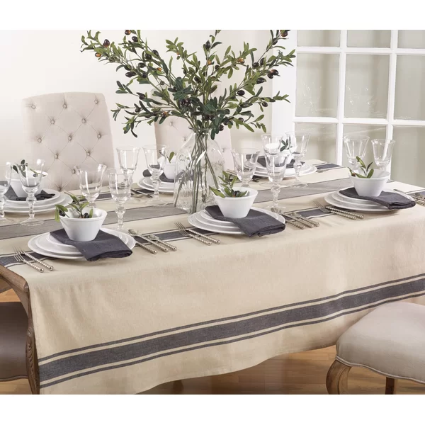 Xanthe Tablecloth Reviews Joss Main In 2020 Dining Table Decor Dining Room Table Decor Dining Room Tablecloth