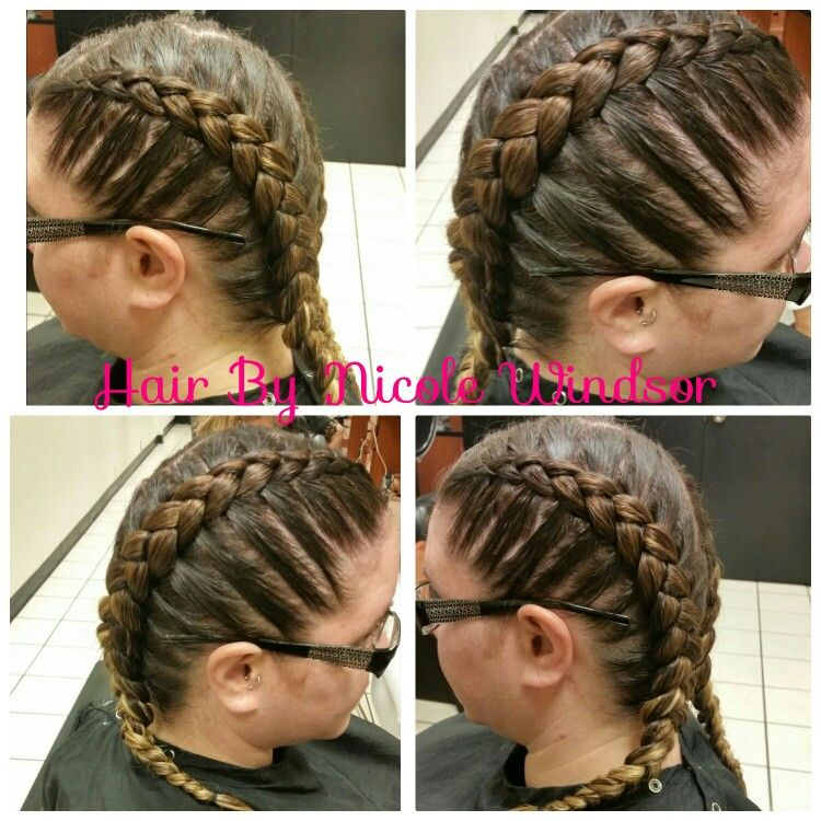 Braids. Hair by Nicole Windsor at Jcpenney salon in