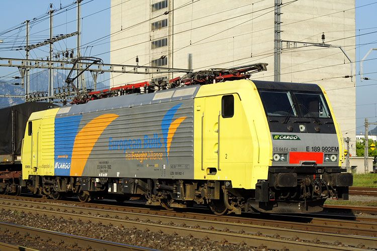 BR 189   Rail Freight Allianz  European Bulls