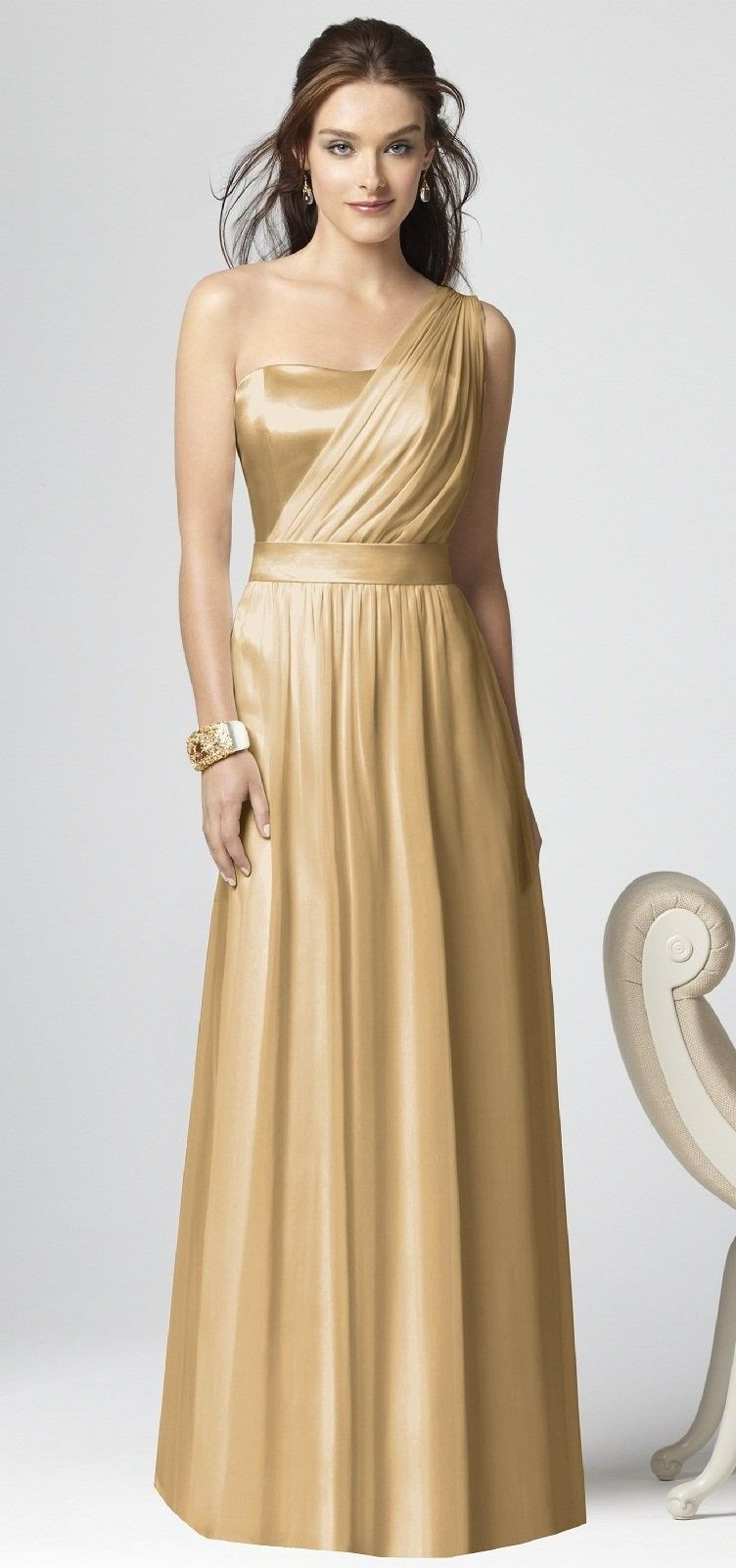 29++ White and gold wedding bridesmaid dresses information