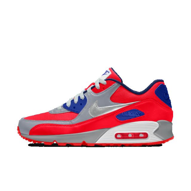 5c41ae3193 Nike Air Max 90 iD Big Kids' Shoe | shoes in 2019 | Air max, Air max ...
