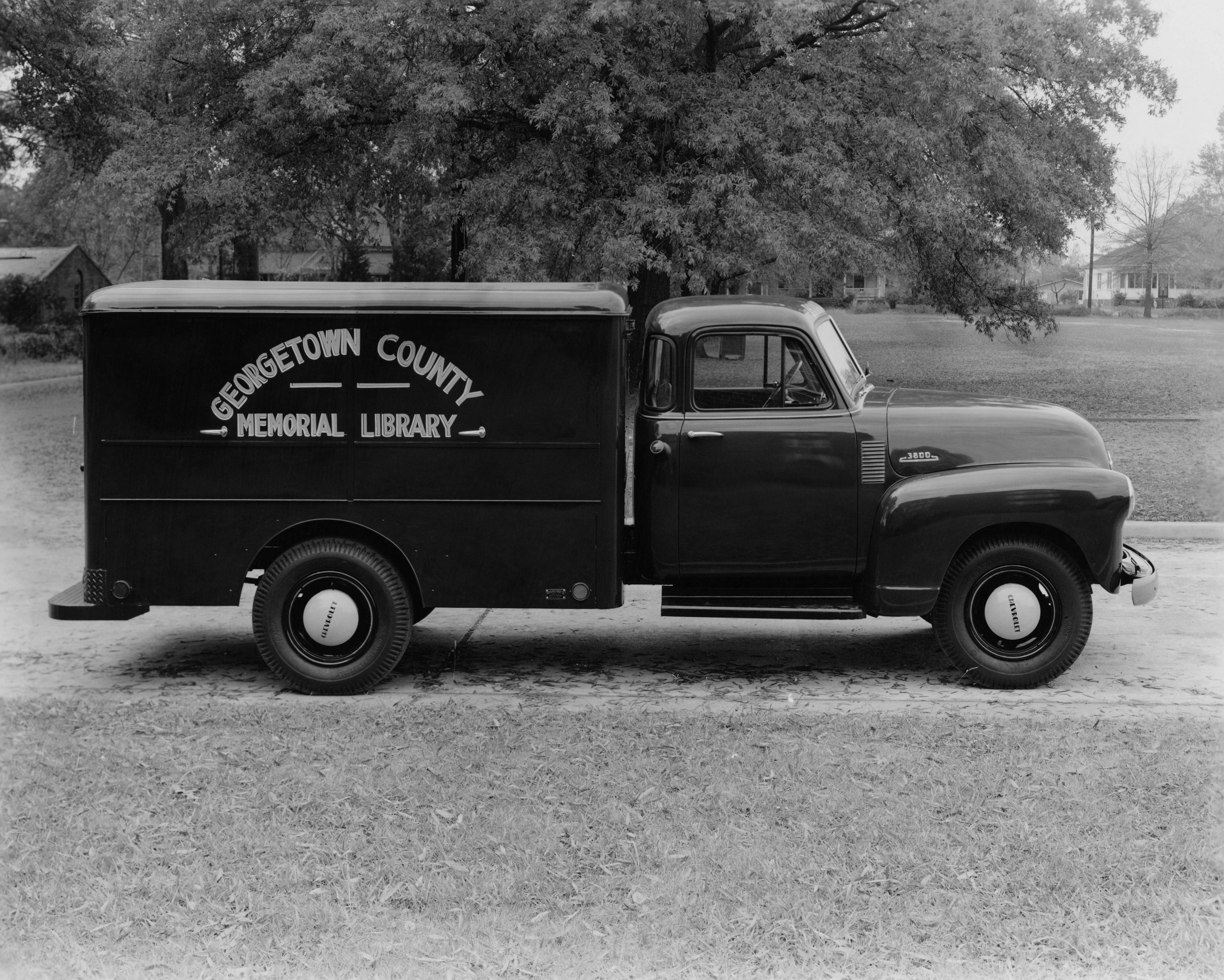 1953 chevrolet 3800 bookmobile by rock hill body company