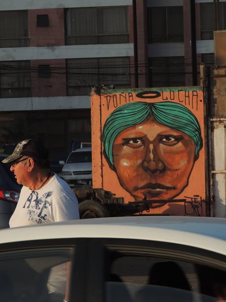 MUROS de Iquique, arte nacional. www.facebook.com/tecreycrew