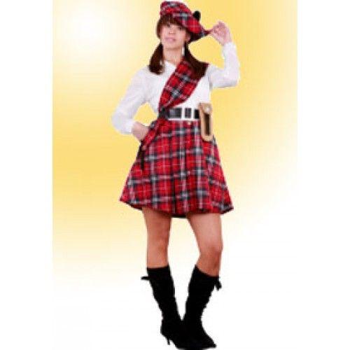 Disfraz De Escocesa Disfraz Disfraces Los Mejores Disfraces