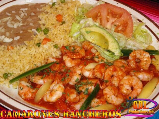 Mexican Entrees Camarones Rancheros Pic Only In 2019