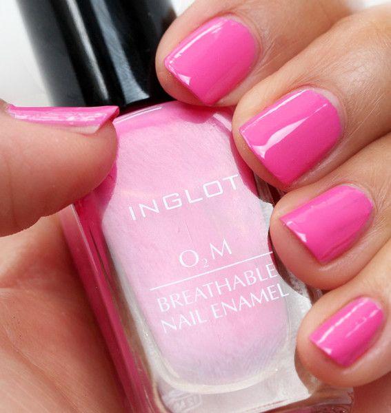 Top 10 Most Popular Inglot O2M Nail Polish Colors - Halal Nail ...