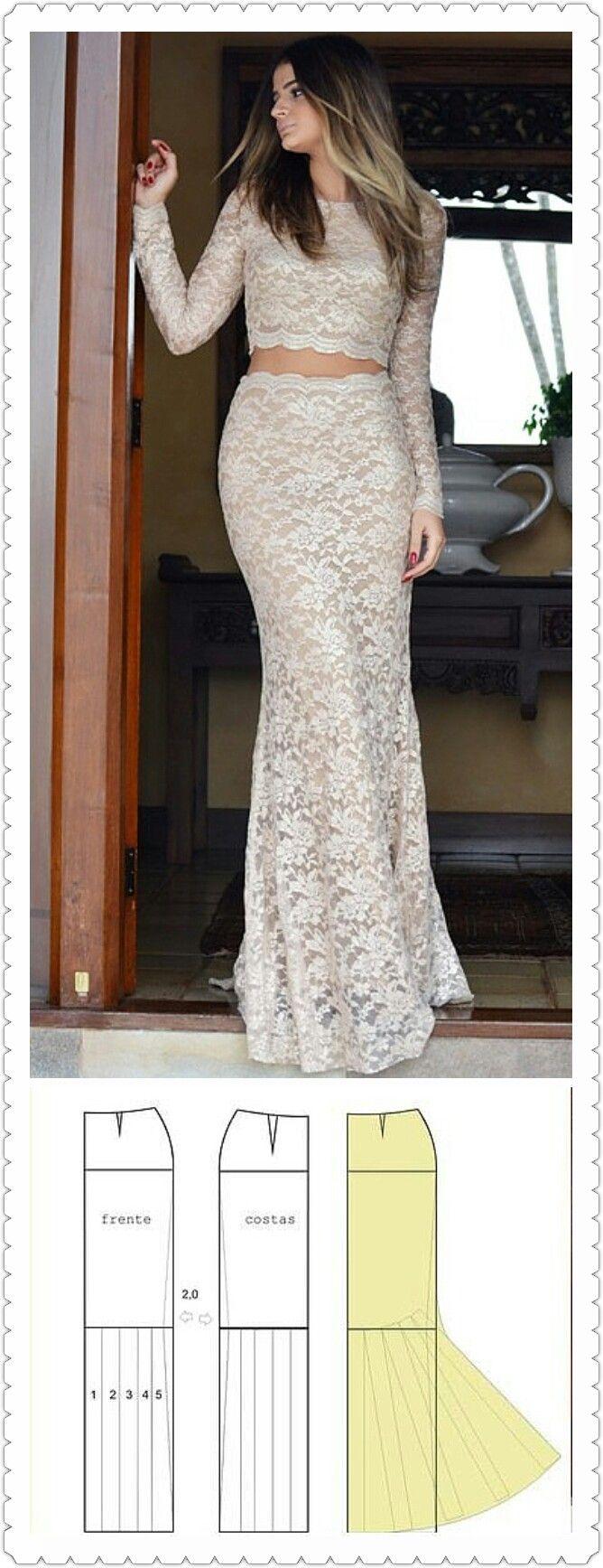 Pin von Emelina auf vestido de novias   Pinterest   Nähen und Kleidung