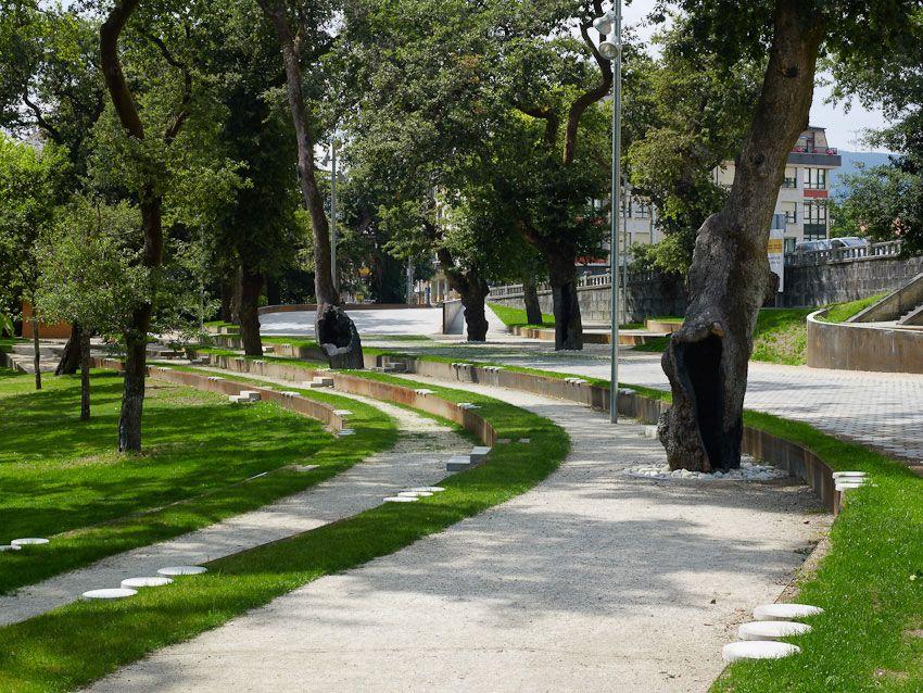 Redevelopment Of The Park Garden And Carballeira By Cerreda Y Lorenzo Arquitectos Urban Landscape Design Landscape Architecture Landscape
