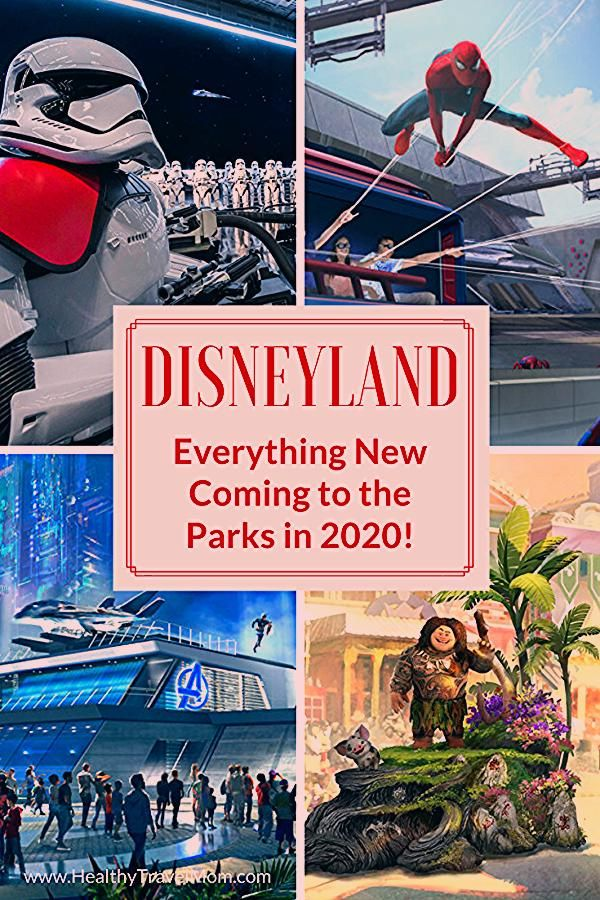 New at Disneyland in 2020 - Healthy Travel Mom