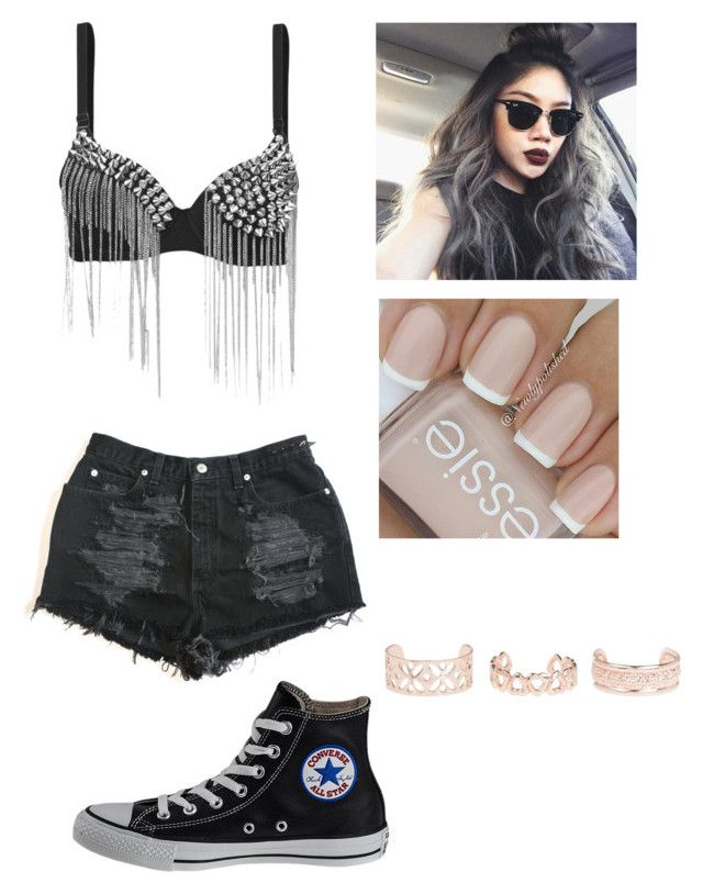 """Untitled #774"" by catrinel-grigorescu on Polyvore featuring Converse and New Look"