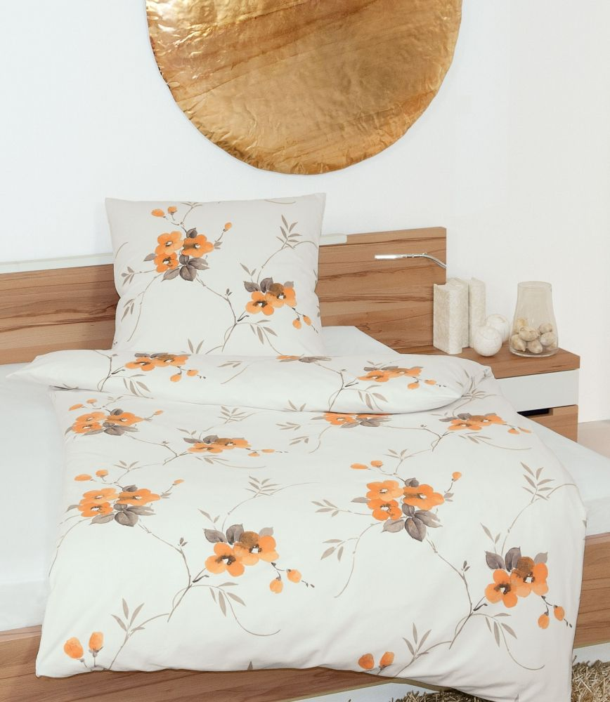 janine davos 6413 biber bettw sche orange 135 200 80 80 cm bettw sche bettw sche bett und. Black Bedroom Furniture Sets. Home Design Ideas