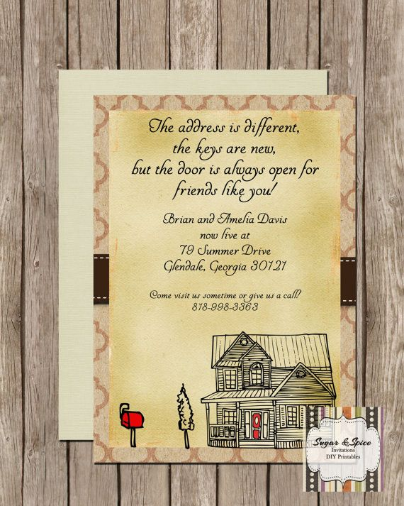 New home announcement house warming invite by sugspcinvitations new home announcement house warming invite by sugspcinvitations stopboris Choice Image