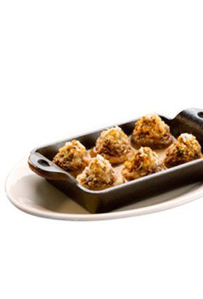 Recipe for Cheesecake Factory Stuffed Mushrooms #cheesecakefactoryrecipes