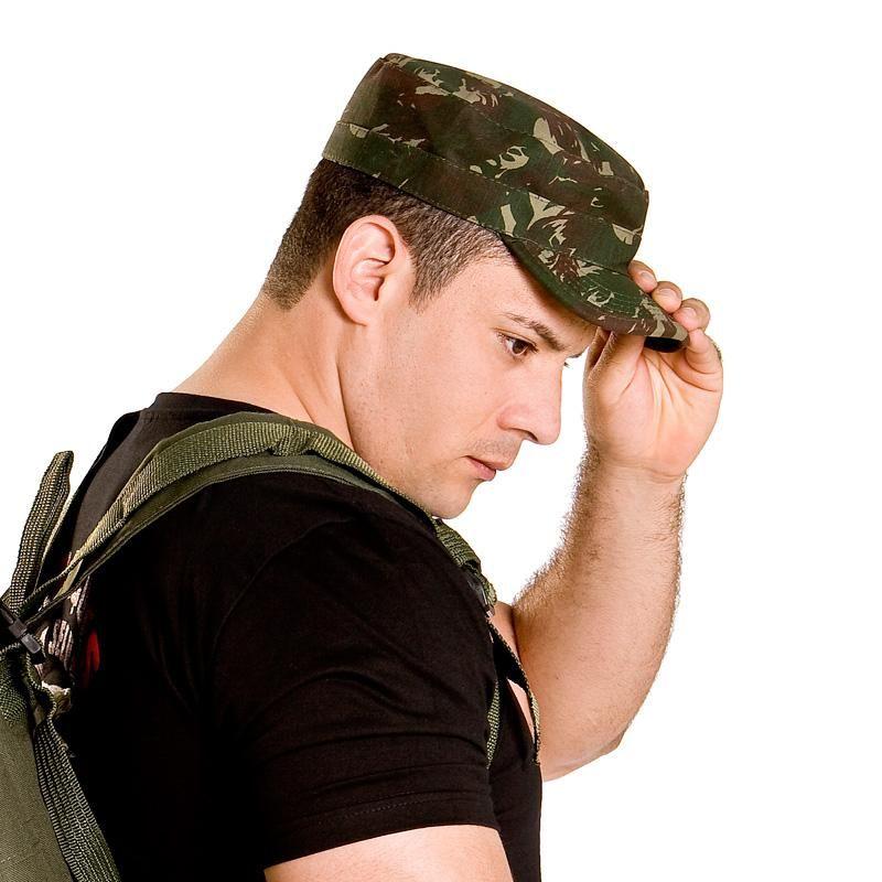 Gorro Camuflado Pala Dura Padrão Exército - Boné   Chapéu - América Tático  Aventura Artigos Militares Aventura Esportes Radicais e Camping. 0901c5ea8f0