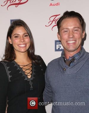 Jeffrey Donovan and his wife Michelle Woods attend the premiere of FX's 'Fargo' Season 2 held at ArcLight Cinemas on October 7, 2015 in Hollywood, California
