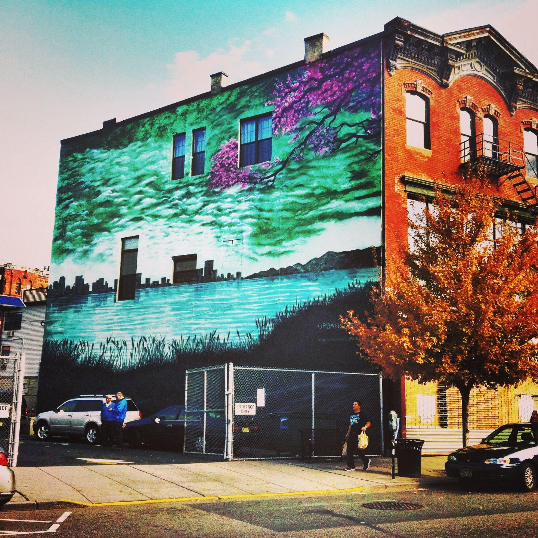 Graffiti art jersey city - Murals In Jersey City Jersey Citygraffiti Artstreet